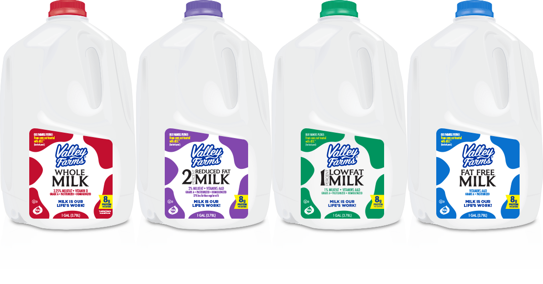 Valley Farms Milk Family